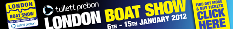 London Boat Show banner