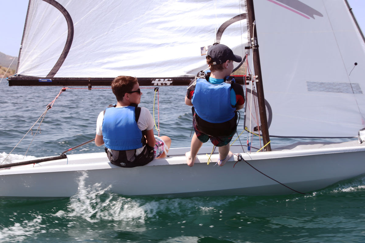 Teenage Clubs for sailing