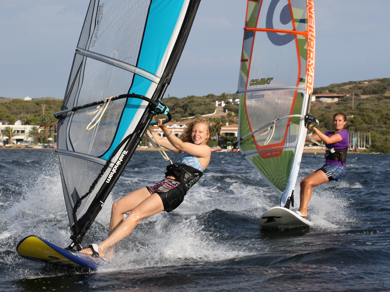Windsurfing in Menorca
