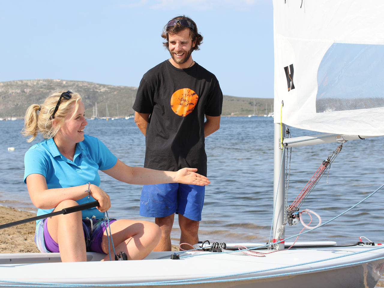 Learn to Laser Sail in Menorca
