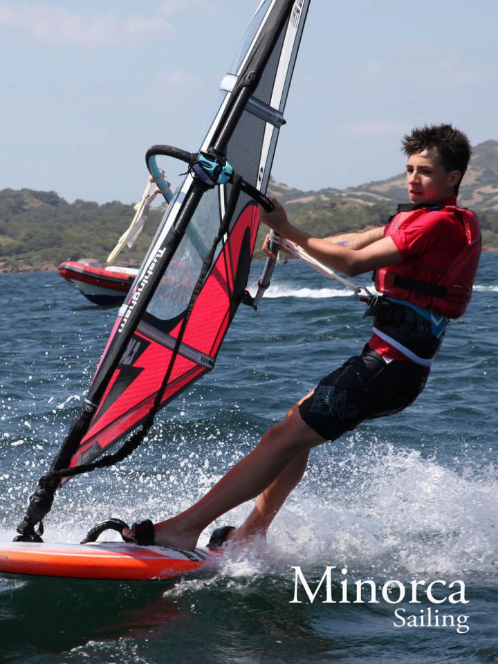 Children and Teenage windsurfing tuition