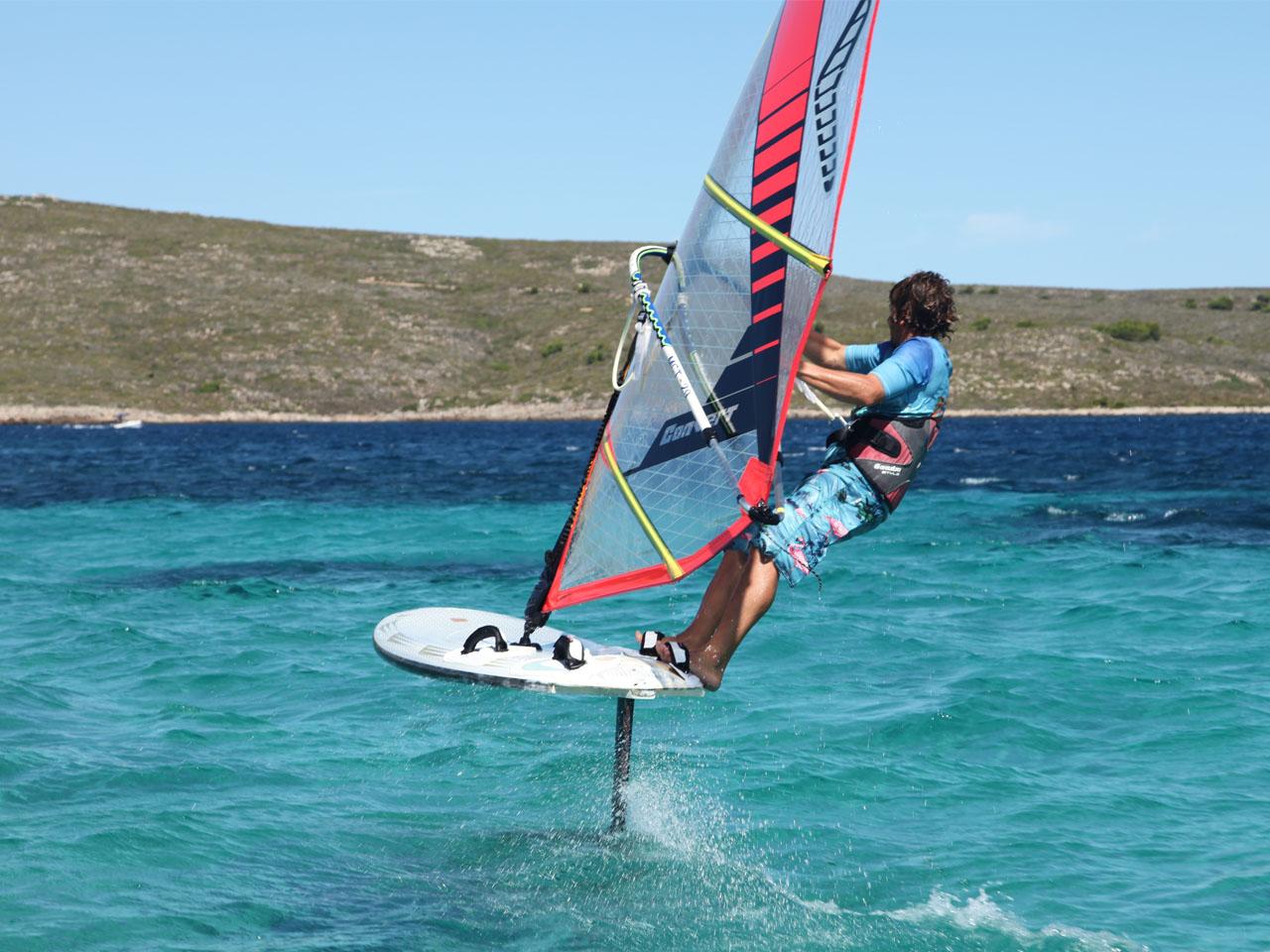 Foil Windsurf | Minorca Sailing