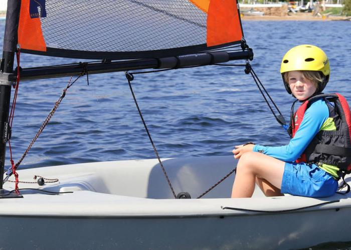 Junior Sailing in the Mediteranean