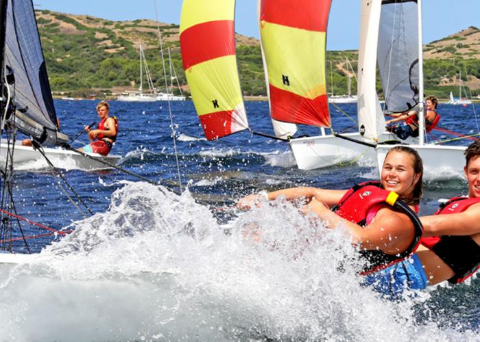 RYA Personal Tuition in an RS 200 on a Minorca Sailing Holiday