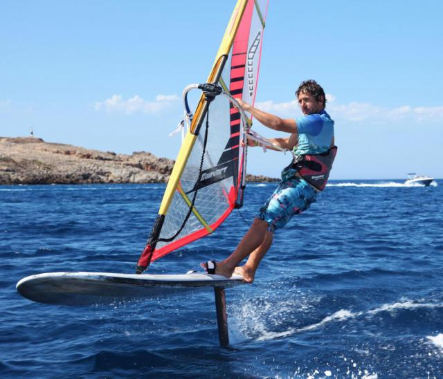 Wind foiling at Minorca Sailing
