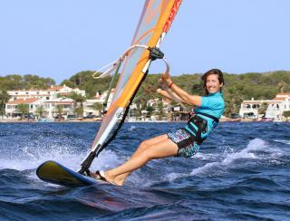 Windsurfing in Menorca
