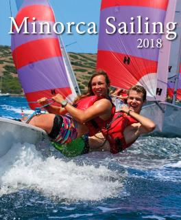 Minorca Sailing 2018 brochure cover