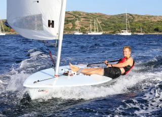 Laser Sailing